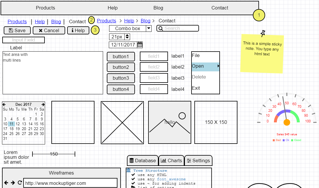 Wireframe software : New release coming up   - MockupTiger Wireframes